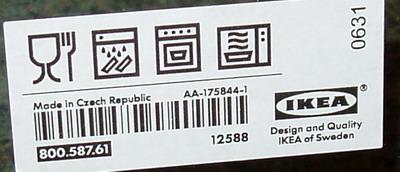 Mísa z IKEA