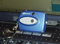 Webkamera zblízka