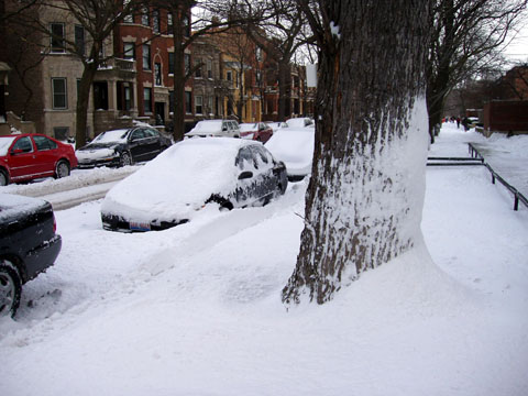 14. února 2007 - nasnežilo