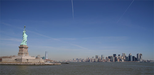 Statue of Liberty a Manhattan