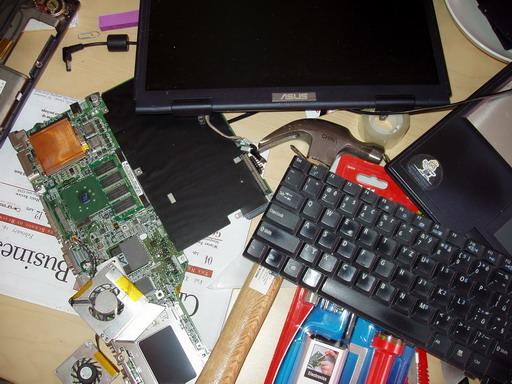 Oprava laptopu