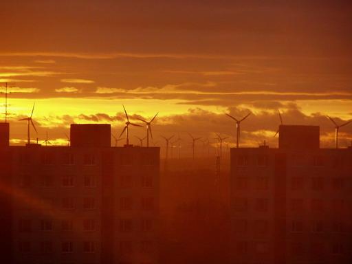 Bratislava - vetrné elektrárny