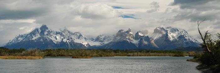 Torres del Paine od Rio Serrano