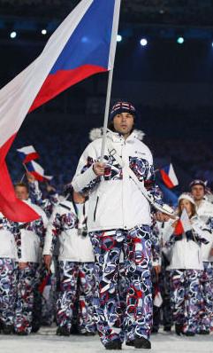 Olympic outfit - Czech Republic - Jaromir Jagr