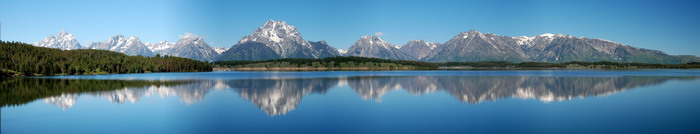 Panorama Grand Teton